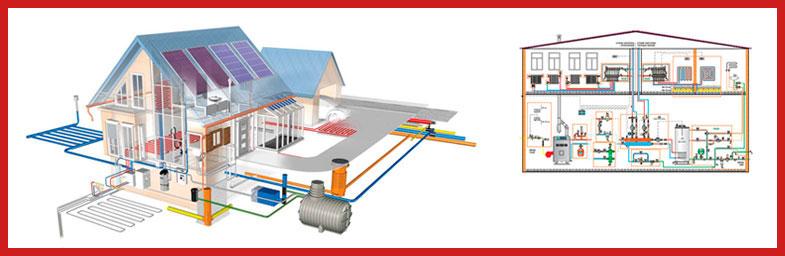 Установка приборов систем отопления