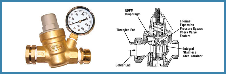 Монтаж редуктора давления воды правила установки